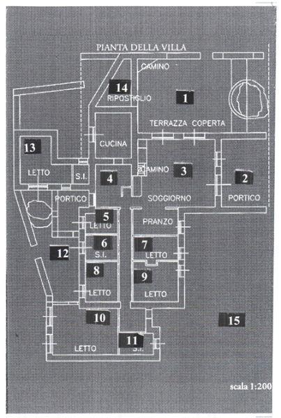 La maddalena ot villa esclusiva mare for Planimetrie della coperta